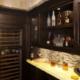 wet bar kitchen cabinets