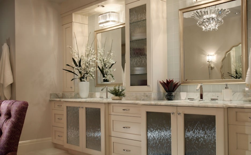 adding a mirror to all of your bathroom vanities is worthwhile. Black Bedroom Furniture Sets. Home Design Ideas
