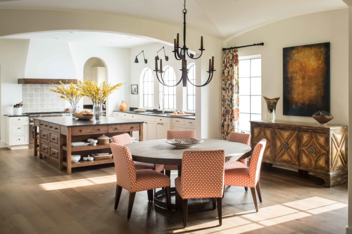 breakfast room - traditional