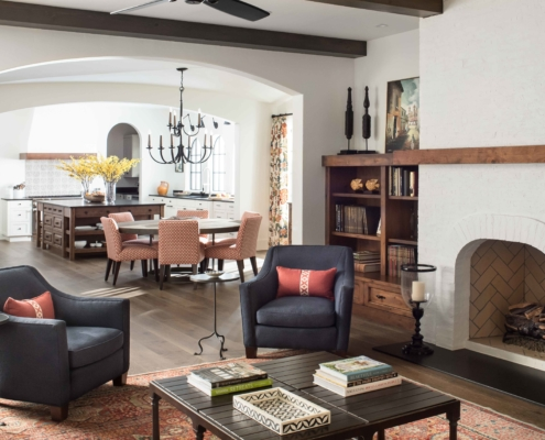 family room - traditional