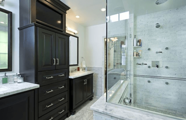 Contemporary This Style Is Great For Both Smaller And Larger Bathroom Es The Cabinets Help Set Mood Whole