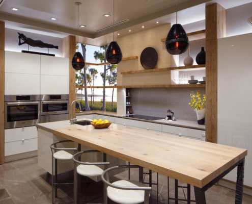 See How Floating Kitchen Shelves Add A Contemporary Look To Kitchens