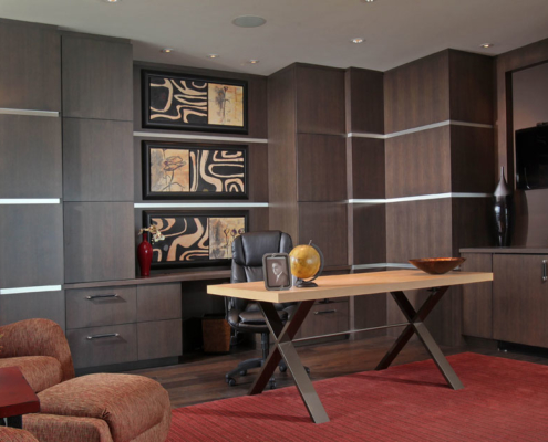 contemporary office cabinets - Naples, FL