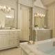 custom transitional bathroom cabinets