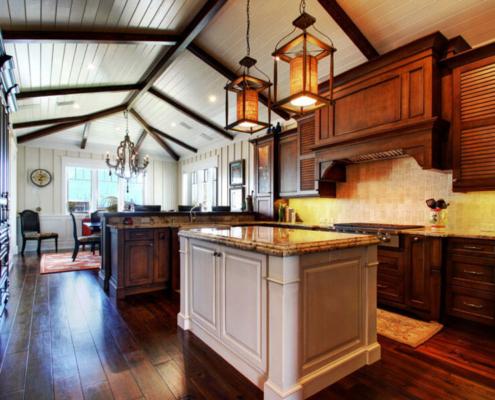 transitional kitchen redesign