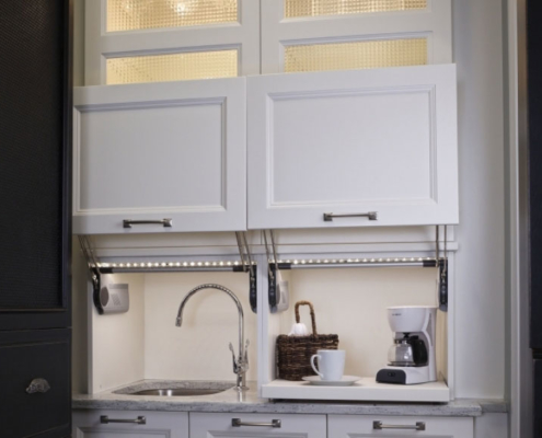 Add A Coffee Bar Into Your Kitchen Cabinets Naples Redesign Project
