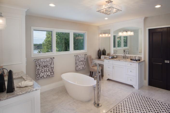 traditional bath - luxury