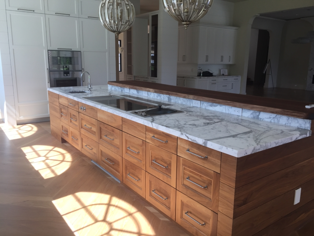 custom kitchen island cabinets