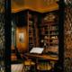 custom study cabinets