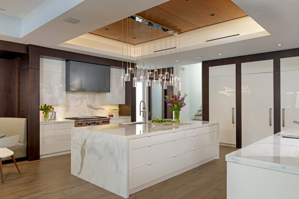contemporary kitchen island cabinetry