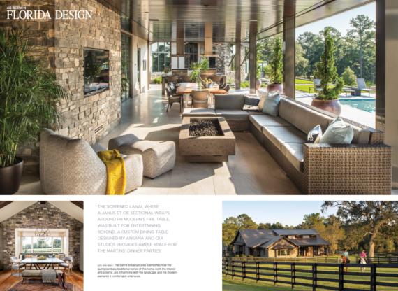 Ocala Residence featured in Florida Design magazine