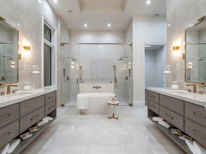 master bath - luxury