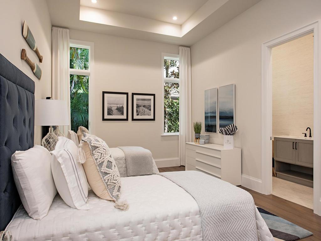 modern guest room